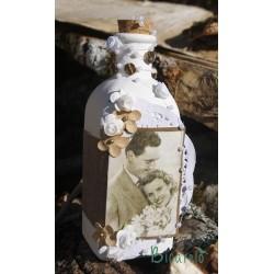 Botella con foto personalizada