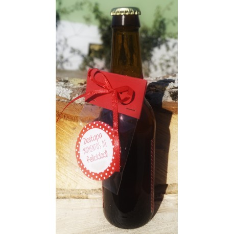 Cerveza Personalizada con abridor