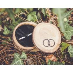 Porta alianzas de madera